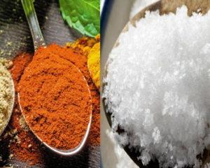 Соль и специи в рационе