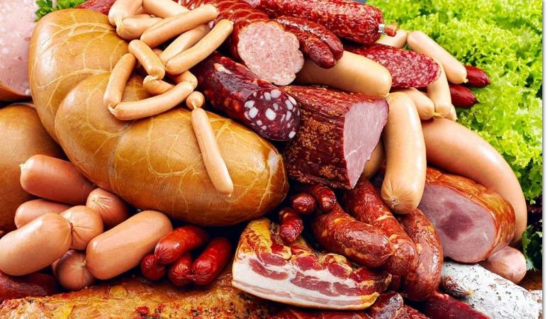 обработанное и красное мясо