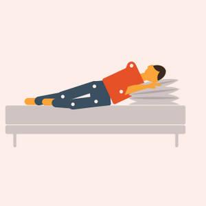 Положения тела после  коронавируса для облегчения одышки