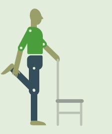 Упражнение на растяжку лечебная физкультура