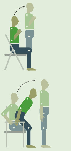 Вставания со стула