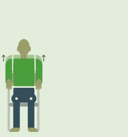 Упражнение пожимание плечами