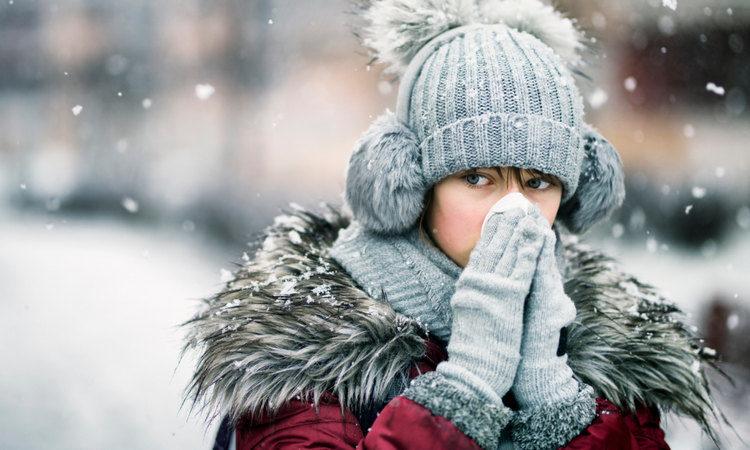 Зима сезонные вирусы